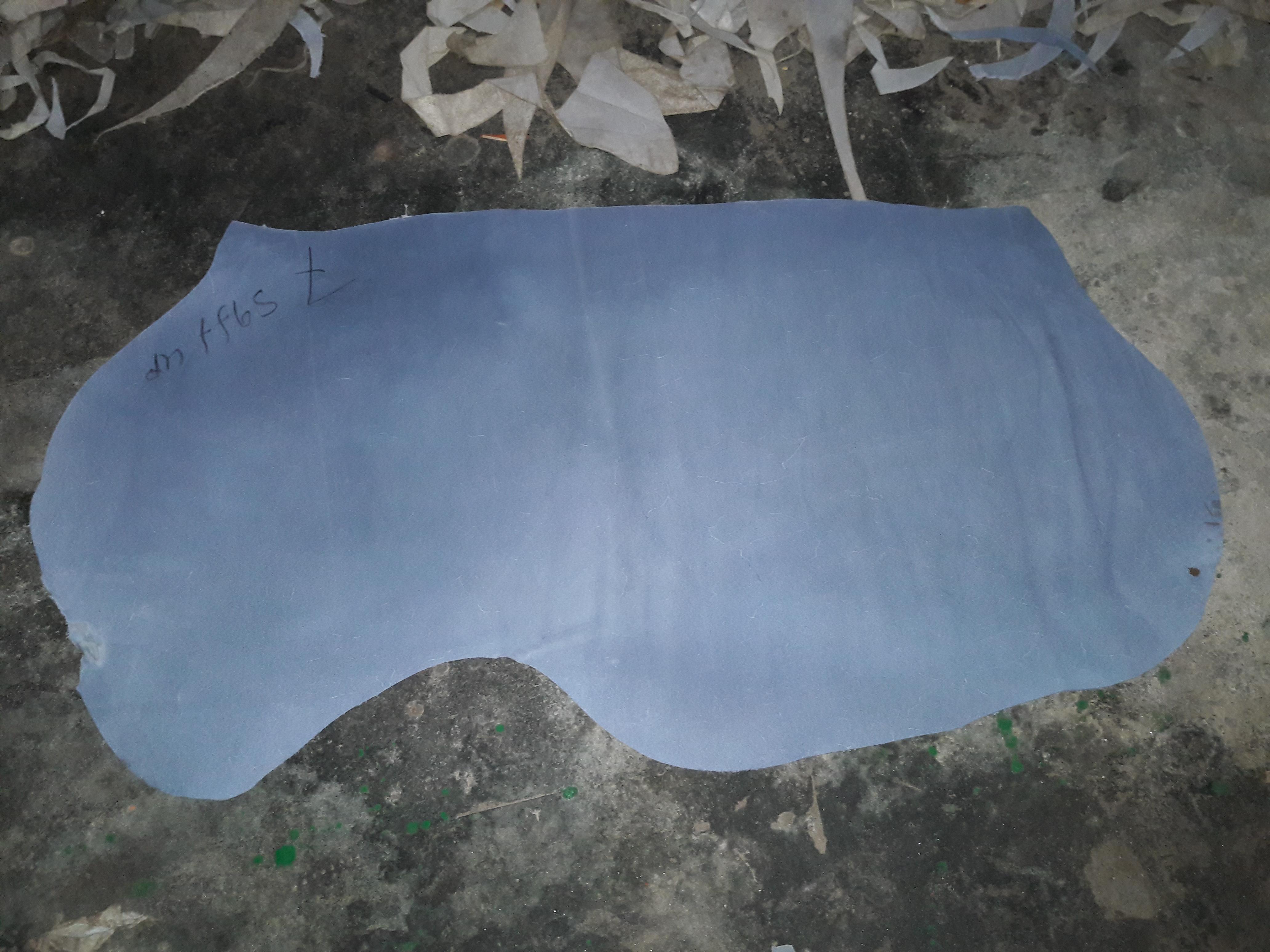 Cow Split Wet Blue Leather