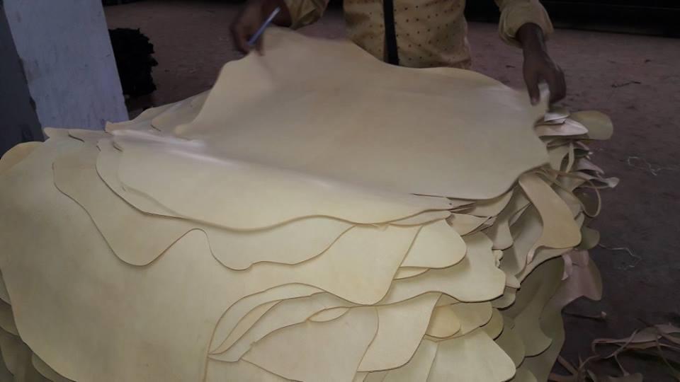 soft goatskin leather