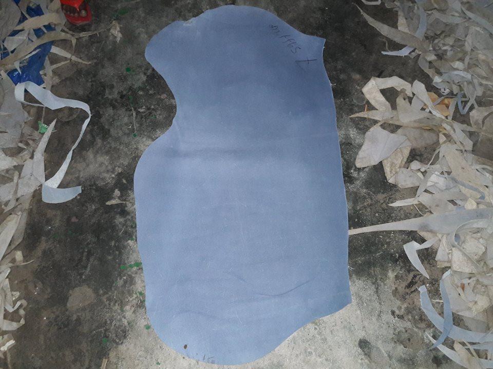 cow split leather single butt