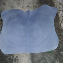 Cow wet blue split leather