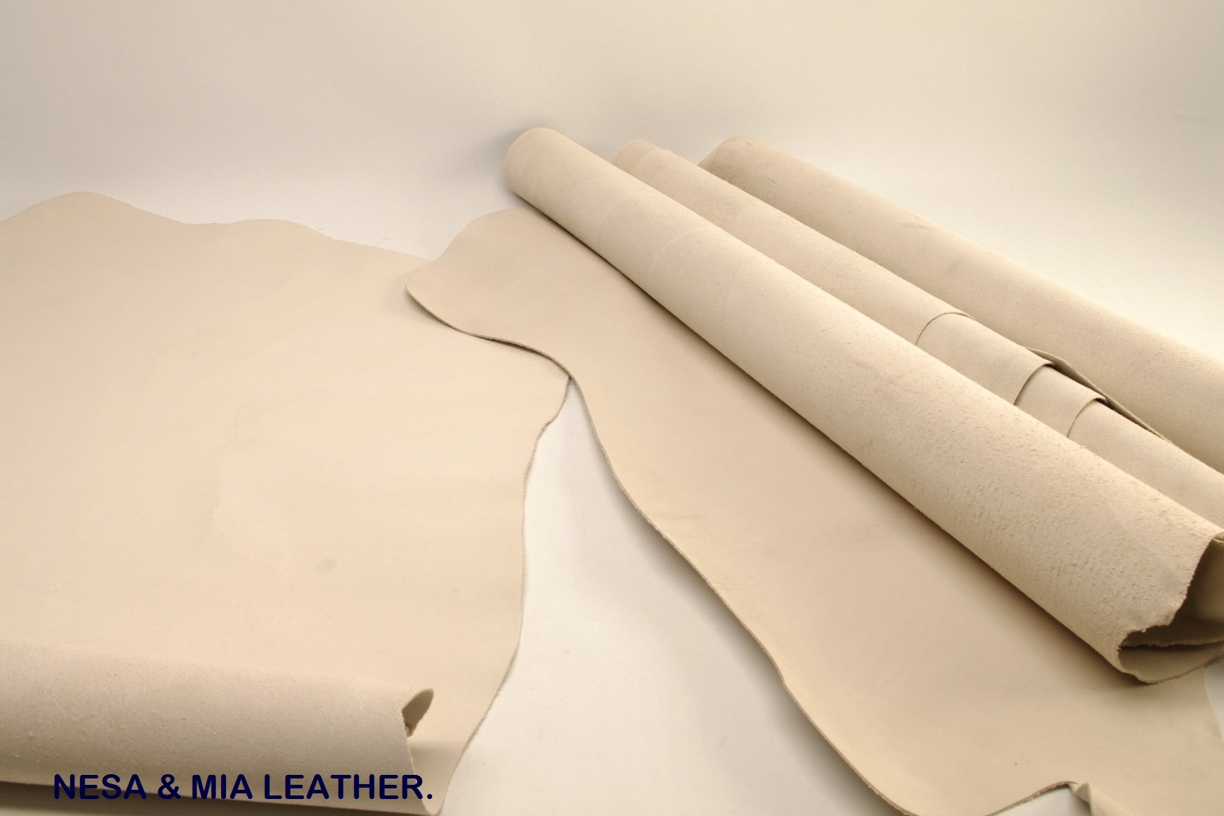 full vegetable tanned cow crust leather