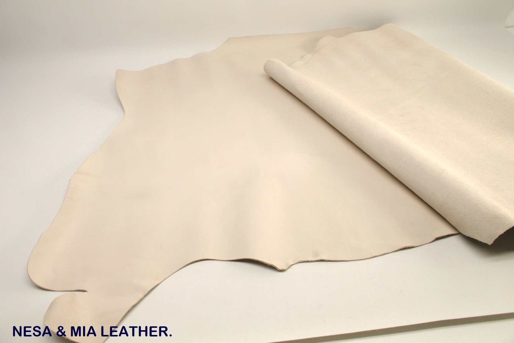 Vegetable tanned cow crust leather Bangladesh